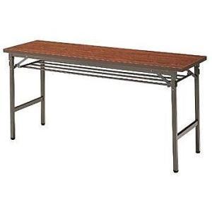 イトーキ 折りたたみテーブルTBE(棚付)150×45【自社便 開梱・設置付】|soho-st