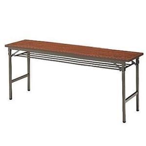 イトーキ 折りたたみテーブルTBE(棚付)180×45【自社便 開梱・設置付】|soho-st