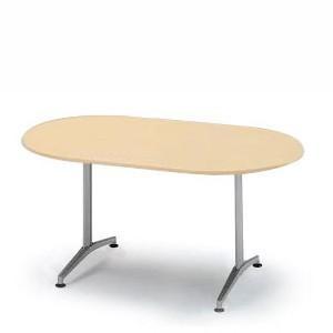 イトーキ テーブル DEシリーズ 150×75cm両アール型【自社便 開梱・設置付】|soho-st