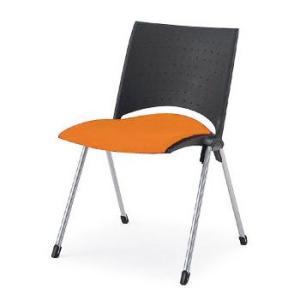 椅子/ イトーキ  スタッキングチェアLEKOS(レコス)肘なし・背パッドなし【自社便/開梱・設置付】|soho-st