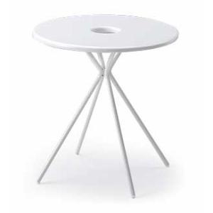 イトーキ FlowLounge(フロウラウンジ)テーブル φ700 LAZT-7C7R-W9【自社便 開梱・設置付】|soho-st