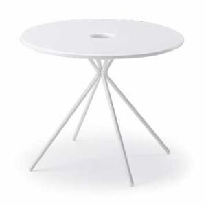 イトーキ FlowLounge(フロウラウンジ)テーブル φ900 LAZT-9C7R-W9【自社便 開梱・設置付】|soho-st