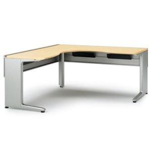 【オフィスデスク】イトーキ IncLude(インクルード) L型オペレーションデスク(6 6)(単体型)スタンダードタイプW160【自社便 開梱・設置付】|soho-st