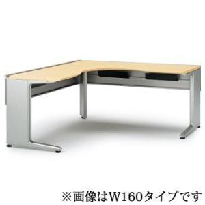 【オフィスデスク】イトーキ IncLude(インクルード) L型オペレーションデスク(6 6)(単体型)スタンダードタイプW180【自社便 開梱・設置付】|soho-st