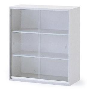 イトーキ THIN LINE(シンラインキャビネット)H1040タイプ ガラス引戸型 上段専用 自社便 開梱・設置付|soho-st