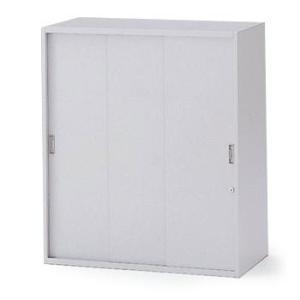 イトーキ THIN LINE(シンラインキャビネット)H1040タイプ 3枚引戸型 上段用 自社便 開梱・設置付|soho-st