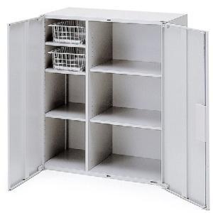 イトーキ THIN LINE(シンラインキャビネット)H1040タイプ キッチンキャビネット両開き扉型 上段用 自社便 開梱・設置付|soho-st