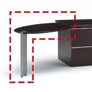 役員用家具 イトーキ XVシリーズ サイドテーブル(左用)【自社便 開梱・設置付】|soho-st