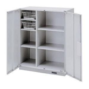 イトーキ THIN LINE(シンラインキャビネット)H1040タイプ キッチンキャビネット両開き扉型 コンセント付ベース付 下段用 自社便 開梱・設置付|soho-st