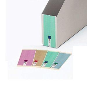 【ファイル用品】イトーキ ワンタッチ組立式ボックス用ラベル 50A4、40A4、40DF用 4色セット【各色15シートセット】|soho-st