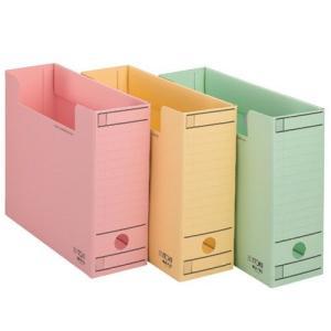 【ファイル用品】イトーキ ワンタッチ組立式ボックスファイル フタなし A4用【10冊セット】|soho-st