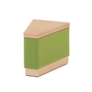 イトーキ ロビー家具 SAシリーズ 巾木タイプ テーブル30°タイプ 布地張りC(止水タイプ) 【自社便 開梱・設置付】|soho-st