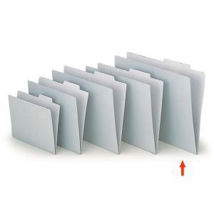 【ファイル用品】イトーキ 上見出し個別フォルダー A3用 グレー【50枚セット】|soho-st