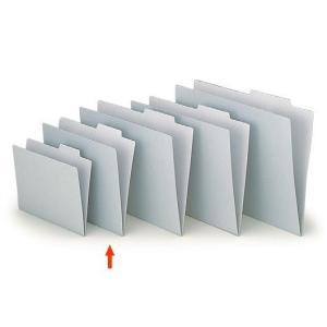 【ファイル用品】イトーキ 上見出し個別フォルダー A4用 グレー【50枚セット】|soho-st