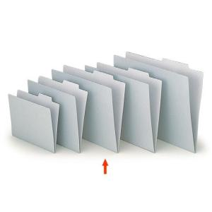 【ファイル用品】イトーキ 上見出し個別フォルダー B4用 グレー【50枚セット】|soho-st