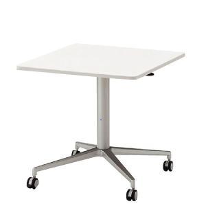 病棟スタッフステーション向け イトーキ 昇降テーブル 角型天板 W75×D75cm 【自社便 開梱・設置付】|soho-st