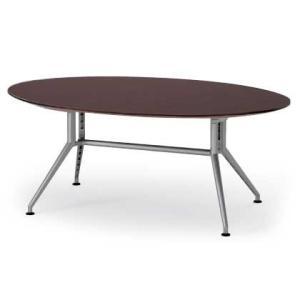 イトーキ 会議テーブルDDシリーズ(120°脚・楕円型)W210【自社便 開梱・設置付】|soho-st