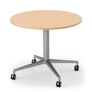 イトーキ テーブルDEシリーズ 十字楕円型 キャスター付φ90 自社便 開梱・設置付|soho-st