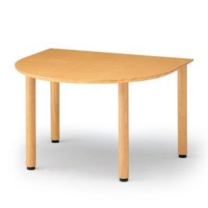 イトーキ リコットシリーズ[C-02] テーブル 半円型 W120×D105cm【自社便 開梱・設置付】 soho-st