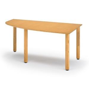 イトーキ リコットシリーズ[C-02] テーブル 四半楕円左型 W160×D90cm【自社便 開梱・設置付】 soho-st