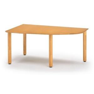イトーキ リコットシリーズ[C-02] テーブル 四半楕円右型 W160×D90cm【自社便 開梱・設置付】 soho-st