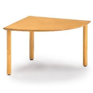 イトーキ リコットシリーズ[C-02] テーブル 四半円型 W120×D120cm【自社便 開梱・設置付】 soho-st