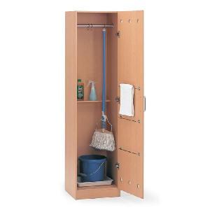 イトーキ 学校用木製収納 掃除用具入れ巾木タイプ 自社便 開梱・設置付|soho-st