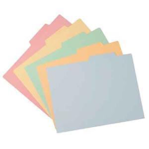 【ファイル用品】イトーキ 上見出し個別カラーフォルダー A4用【50枚セット】|soho-st