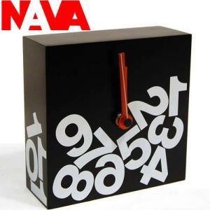 NAVA 置き時計 TIME SQUARE JETRAG(ジェットラグ) ミニ|soho-st