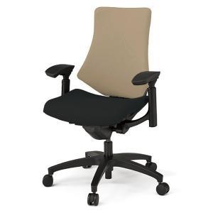 オフィスチェア 布張り  イトーキ エフチェア ハイバック コンビ張り 可動肘 樹脂脚|soho-st