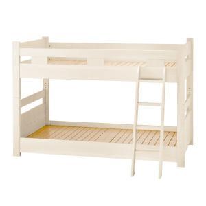限定モデル  二段ベッド 低床 ロータイプ BP-W (組立サービス付)|soho-st