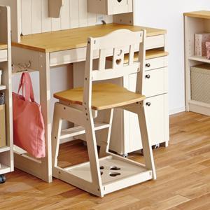 イトーキ 学習机 椅子  木製チェア KM97-02GC ナチュラルホワイト デスクチェア|soho-st