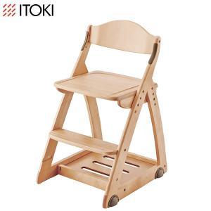 セール/数量限定 イトーキ学習机 椅子2014 イス /  イトーキ 木製チェア KM46 デスクチェア|soho-st