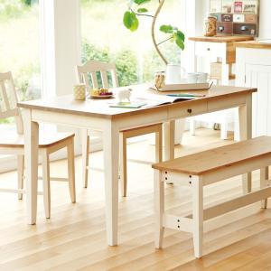 【Web限定】イトーキ 家具 / (組立サービス付)カモミール・リビング ダイニングテーブル GCL-DT14-NW|soho-st