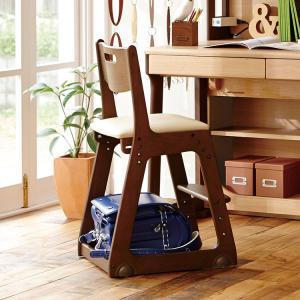 子供用学習椅子 アウトレット セール イトーキ 学習チェア 木製チェア ソフトレザー張り KM76-76BE モカブラウン・ベージュ|soho-st