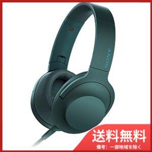 ソニー SONY ヘッドホン h.ear on MDR-100A  L