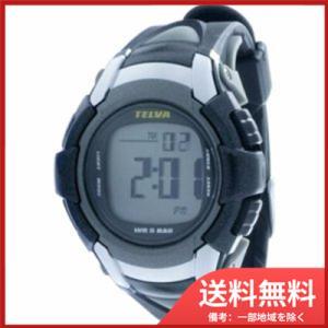 2d77e44227 [テルバ]TELVA 腕時計 クロノグラフ デジタル メンズウォッチ TEV-2507-BK ブラック メンズ []