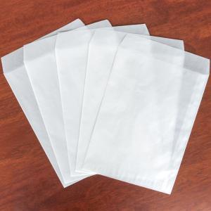 グラシン封筒 白無地 10枚 A5変形サイズ 半透明平袋|sokana