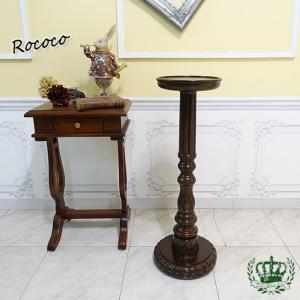 ミニサイドテーブル アンティーク レトロ ヴィンテージ 小テーブル スモーカーズテーブル ミニテーブル 3096-5|sokkuriichiba