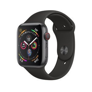 Apple Watch Series 4(GPS + Cellularモデル)- 44mmスペースグ...