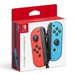Nintendo whitch Joy-Con (L) ネオンレッド/(R) ネオンブルー  ニンテ...