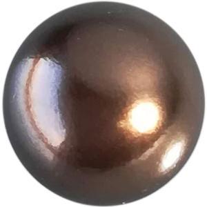 パール 10mm チョコレート 約18個 そらプリ アクセサリー|solargift