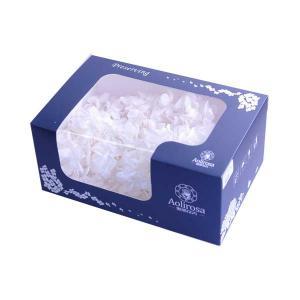 プリザーブドフラワー 花材 箱 Nアジサイ ホワイト 約22g|solargift