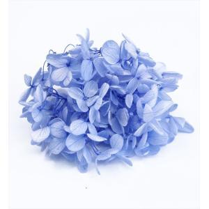 プリザーブドフラワー 花材 箱 Nアジサイ パールブルー 約22g|solargift