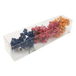 プリザーブドフラワー 花材 ペッパーベリー アソートB 約15g そらプリ|solargift