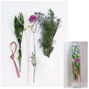 プリザーブドフラワー 花材 お正月 キット ハーバリウム セットB 福袋|solargift