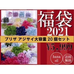 福袋 プリザーブドフラワー 花材 アジサイ 詰め合わせ 20個 ハーバリウム 送料無料の画像