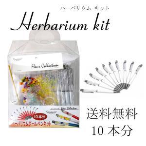 ハーバリウム ボールペン 10本分 キット 花材セット|solargift