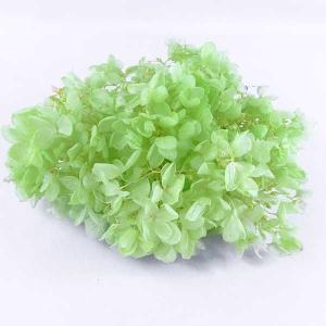 プリザーブドフラワー 花材 材料 ソフトアジサイ水無月 フレッシュグリーン 小分け|solargift
