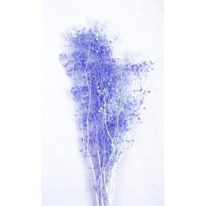 かすみ草 プリザーブドフラワー 花材 ブルー×ブルー 小分け そらプリ solargift